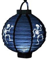 Enjoydeal Halloween LED Lantern Light up Props Hanging Paper Lantern Party Decor Ghost