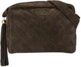 Chanel Pre Owned 1992 diagonal quilt tassel shoulder bag