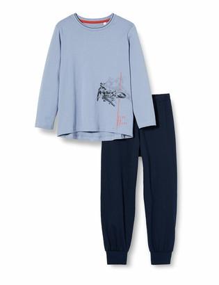 Sanetta Boy's Schlafanzug Blue-Fog Pajama Set 152