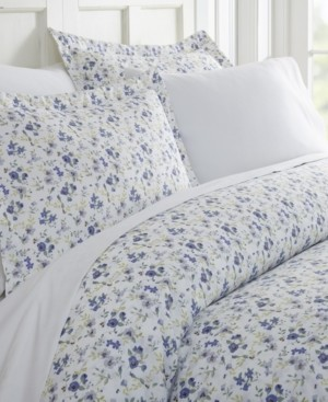 IENJOY HOME Tranquil Sleep Patterned Duvet Cover Set by The Home Collection, Queen/Full Bedding