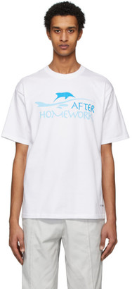 Afterhomework White Image Back T-Shirt
