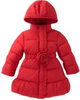 Kate Spade Girls' Rosette Puffer Coat Sizes