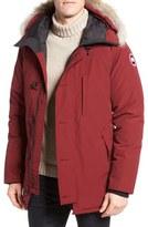 Canada Goose 'Chateau' Slim Fit Genuine Coyote Fur Trim Jacket