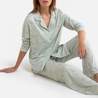 La Redoute Collections Grandad Pyjamas in Recycled Jersey