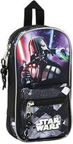 Star Wars Saga Pencil Cases, 23 cm, Black (Negro)