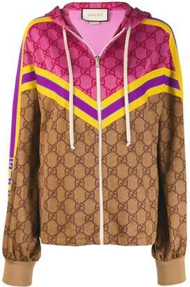 Gucci Supreme GG zipped jacket