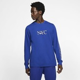 Nike Men's Long-Sleeve T-Shirt Sportswear NYC