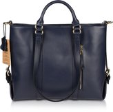 Kattee Women's 3-Way Genuine Leather Shoulder Tote Bag