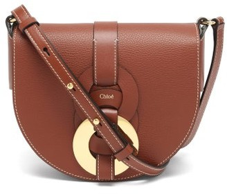 Chloé Darryl Grained-leather Cross-body Bag - Tan