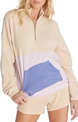 Wildfox Couture Lea Half Zip Pullover