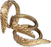 One Kings Lane Vintage French Gilt Brass Drapery Rings, S/3