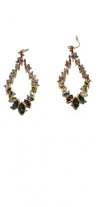 Alexis Bittar Gold Crystal Earrings