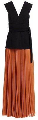 TRE by Natalie Ratabesi The Mercury Two-Tone Dress