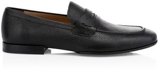 Salvatore Ferragamo Brendon Leather Penny Loafers