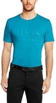 HUGO BOSS Mens Short Sleeve Cotton Blend T-shirt 'Tee Us'