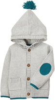 Gymboree Gray Tassel-Accent Button-Up Hoodie - Infant