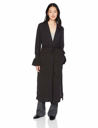 The Fifth Label Women's Flute Long Open Soft Knit Cardigan with Bell Sleeves