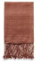 A & R Cashmere Natural Silk Throw