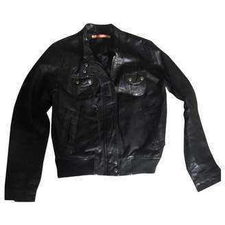 Shyde \N Black Leather Leather Jacket for Women