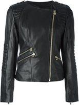 Philipp Plein 'Bat Girl' biker jacket