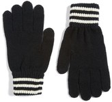 Polo Ralph Lauren Rugby Stripe Wool & Cashmere Gloves