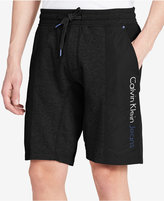 Calvin Klein Jeans Men's Colorblocked Drawstring Casual Shorts