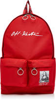Off White C/O Virgil Abloh Monnalisa Dual-Pocket Logo Backpack