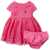 Juicy Couture Infant Girls) Two-Piece Lace Dress & Bloomers Set
