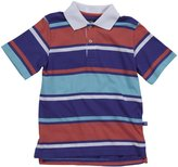 E-Land Kids Rugby Polo (Toddler/Kids) - Heliotrope-3T