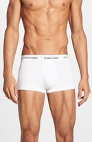 Calvin Klein 3-Pack Stretch Cotton Low Rise Trunks