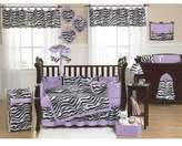 JoJo Designs Purple Funky Zebra Baby, Kids and Teens Wall Paper Border by Sweet