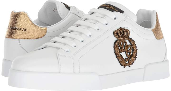 Dolce & Gabbana Medal Sneaker Men's Shoes
