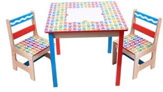 Crayola Wooden Table & Chair Set Grow 'n Up
