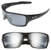 Oakley Men's Turbine Rotor 70Mm Sunglasses - Black
