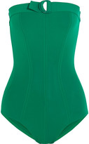 Eres Petula Tracy Bandeau Swimsuit - Forest green