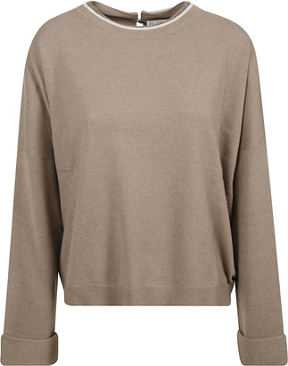 Brunello Cucinelli Back Keyhole Hole Detail Jumper