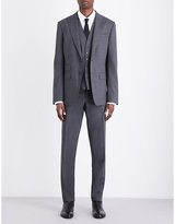 Dsquared2 London Tailored-fit Stretch-wool Three-piece Suit
