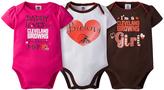 Gerber Cleveland Browns Pink Short-Sleeve Bodysuit Set - Infant