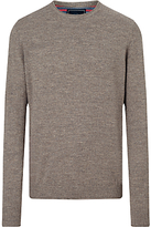 John Lewis Budding Cotton Crew Neck Jumper