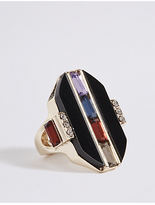 M&S Collection Baguette Gem Ring