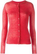 Joseph cashmere round neck cardigan - women - Cashmere - XS
