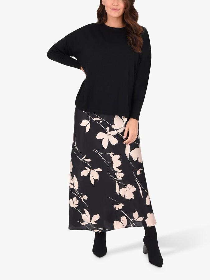 Live Unlimited Curve 2-in-1 Jumper Dress, Black