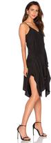 Lover Silk V Mini Dress