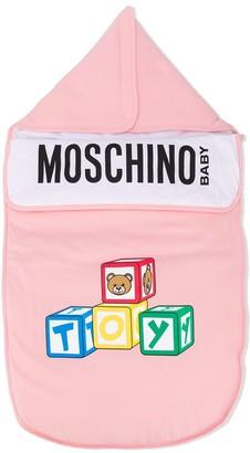MOSCHINO BAMBINO Toy Teddy logo nest