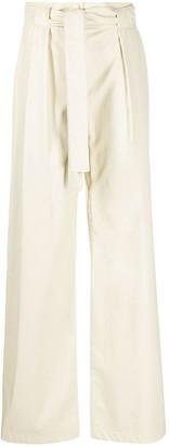 MSGM Paper Bag Trousers