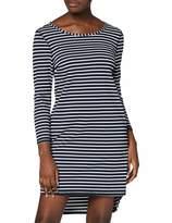 Tom Tailor Women's 50196610071 Long Sleeve Dress - Blue - 10
