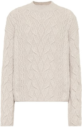 Loro Piana Finsbury cashmere cable-knit sweater