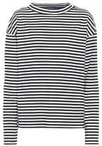 MiH Jeans Seberg Breton striped cotton top