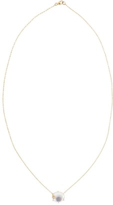 Andrea Fohrman 18kt rose gold diamond Mini Galaxy Mother of Pearl necklace
