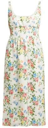Emilia Wickstead Giovanna Floral-print Dress - Womens - Multi